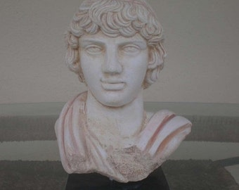 For Sale Antinous Bust - Antinoos - Ancient Rome-Greece - Emperor Hadrian