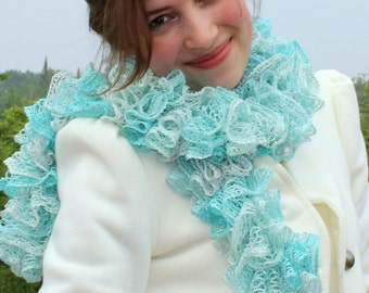 Beautiful Ruffled Scarves
