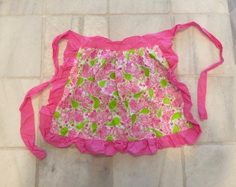 Lilly Pulitzer fabric apron