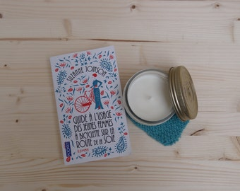Relaxing candle Lemongrass