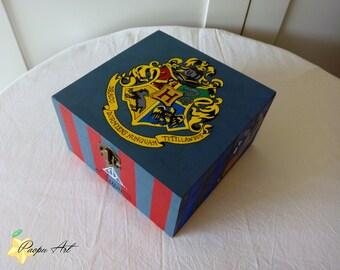 Harry Potter wood box