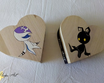 Box heart heartless and incorporeal-Kingdom Hearts