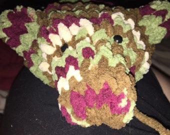 Knit Teddy Bear (work in progress)