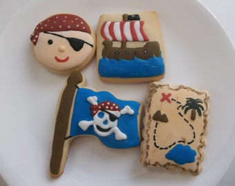 Pirate cookies/ Pirate/ Sugar cookies