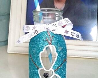 Olaf Milk Bottle