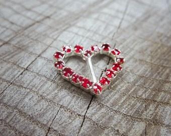 Heart Buckles ~1 pieces #100713