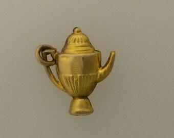 9ct Gold Teapot Charm