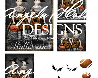 Happy Halloween Digi Sheet