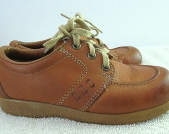 Little Boy's Vintage 70's,Brown BeATNik Boho/Hippie era Shoes By Thom McAN.10