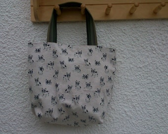 French Bull Dog bag