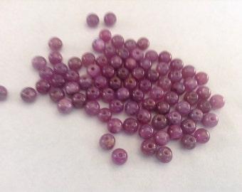 5mm Ruby stone