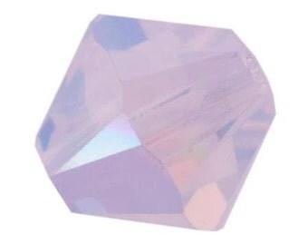 Swarovski Crystal Bicone Beads 5328 -3mm 4mm 5mm 6mm 8mm - Violet Opal