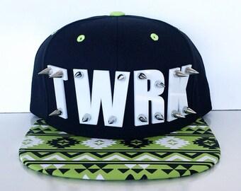 TWERK Dance Neon Tribal Snapback