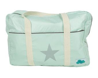 Nursery & Carry Bag Green Star