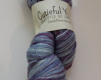 Hand Dyed 4 play yarn