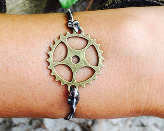 Steampunk Cog Bracelets