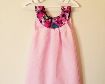 Sophia Girls Summer Shift Dress