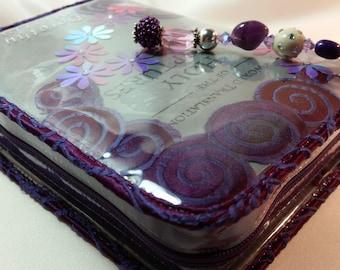 NWT Purple swirls