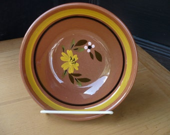 Stangl Bowl Yellow Flowers