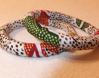 African print bangle