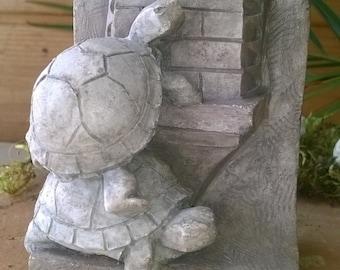 Turtles, resin figure.