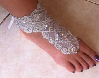 Wedding barefoot sandal
