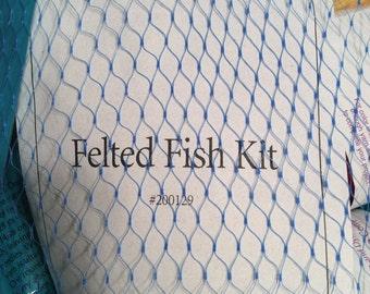 New Patternworks Felted Fish Kit