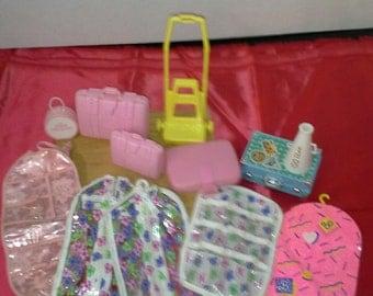 Vintage Barbie Luggage. Free shipping...