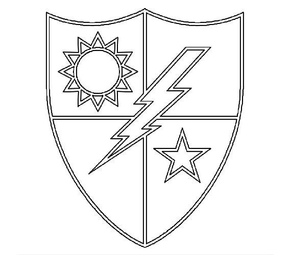 Us Army Unit Crest 75th Infantry Regiment Rangers Vecor
