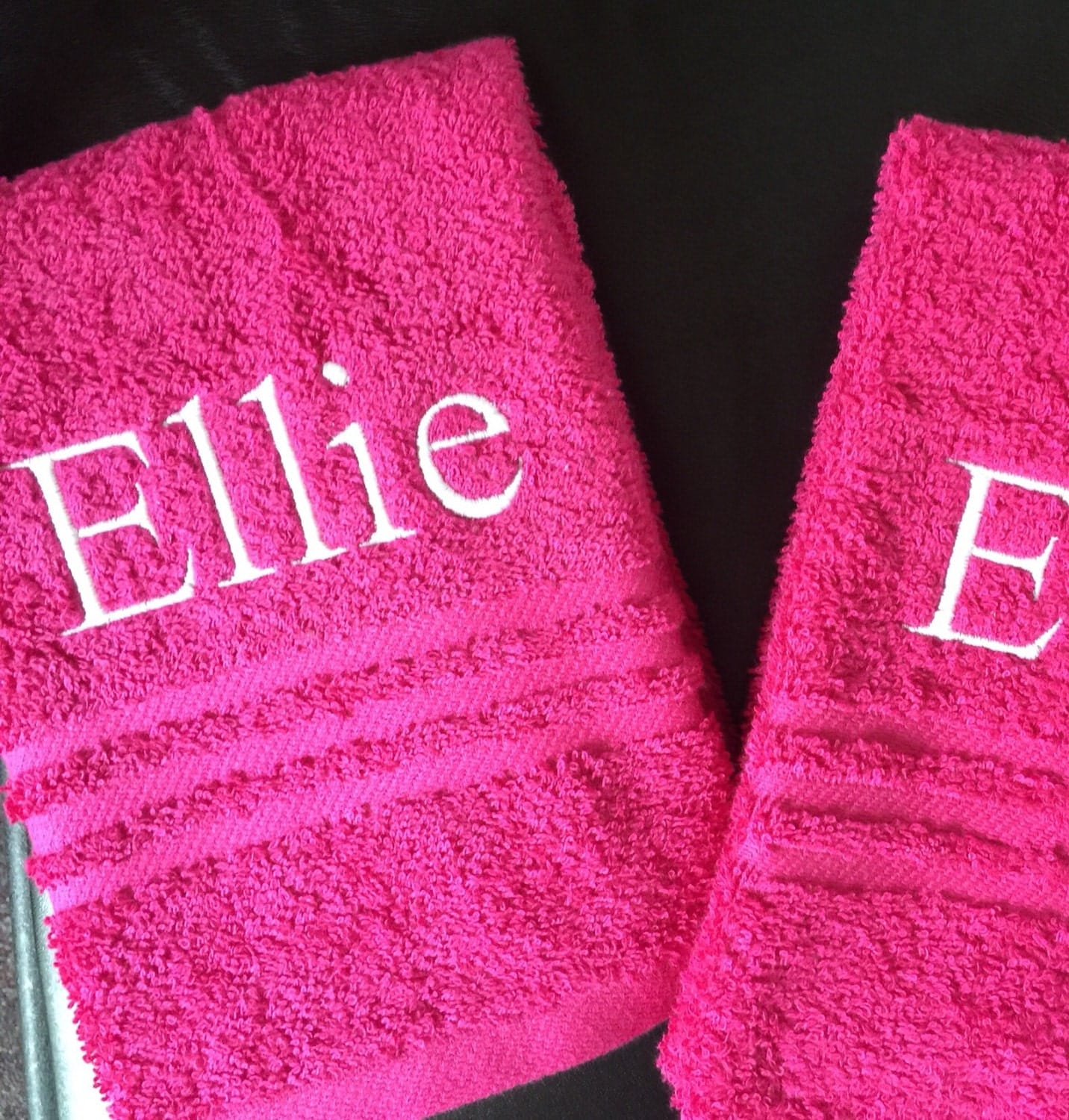 Embroidered Towels Custom