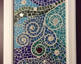 Abstract Mosaic Wall Hanging