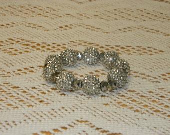 Crystal glam bracelet