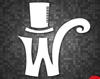Willy Wonka 1971 Logo Vinyl Decal