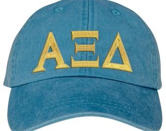 Alpha Xi Delta Lettered Premium Pastel Hat
