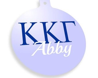 Kappa Kappa Gamma Personalized Ornament