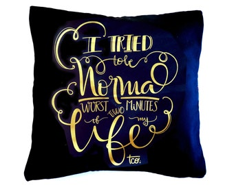 "Black Cushion Cover ""Normal"""