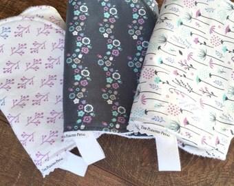 Baby girl burp cloth Girl Burp Cloth Trendy Burp Cloth-Pink Burp Cloth-Bamboo Burp Cloths-Cotton Burp Cloth-Modern burp cloths-Organic Baby