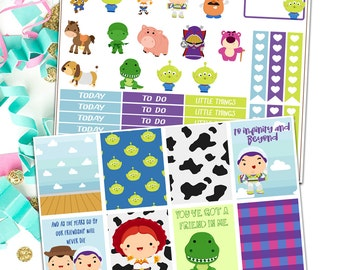 Erin condren Toy story planner sticker kit