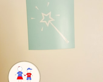 Magic Wand Decal