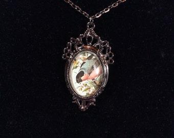 Bird pendent-vintage style