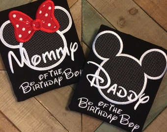 1 Birthday Mister or Miss Mouse Shirt