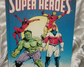 Marvel Super Heroes Book