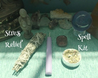 Stress Relief Spell Kit