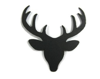 Deer Head Cut Out Set of 25