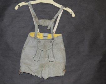 Child's lederhosen