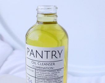 All-Natural Oil Cleanser - Oil Cleansing Method - Skin Care - 3 varieties: Oily-Acne Prone Skin/Dry Skin/Combination Skin