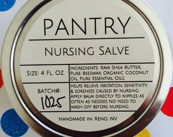 Nursing Balm - Nipple Cream - All-Natural - Soothing, Calming Nursing Balm