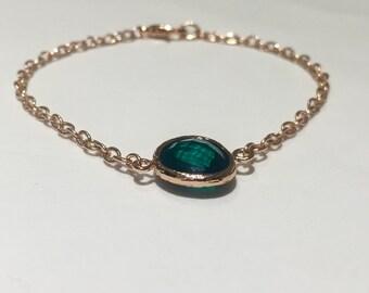 Precious Coloured Gem Bracelet