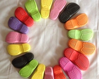 SOLE. Вoots -Rubber soles for crochet shoes - Winter shoes, boots soles - colorful rubber soles for shoes, RUBBER SOLE for kids