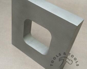 ALUMINUM MOLD FRAMES single cavity vulcanizer rubber 3.5 x 3.5 jewelry making